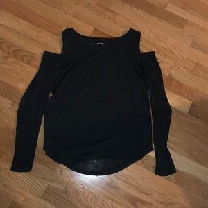 Black Hollister cold shoulder
